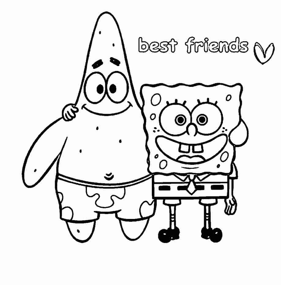 - Best Friend: Best Friend Coloring Pages Printable