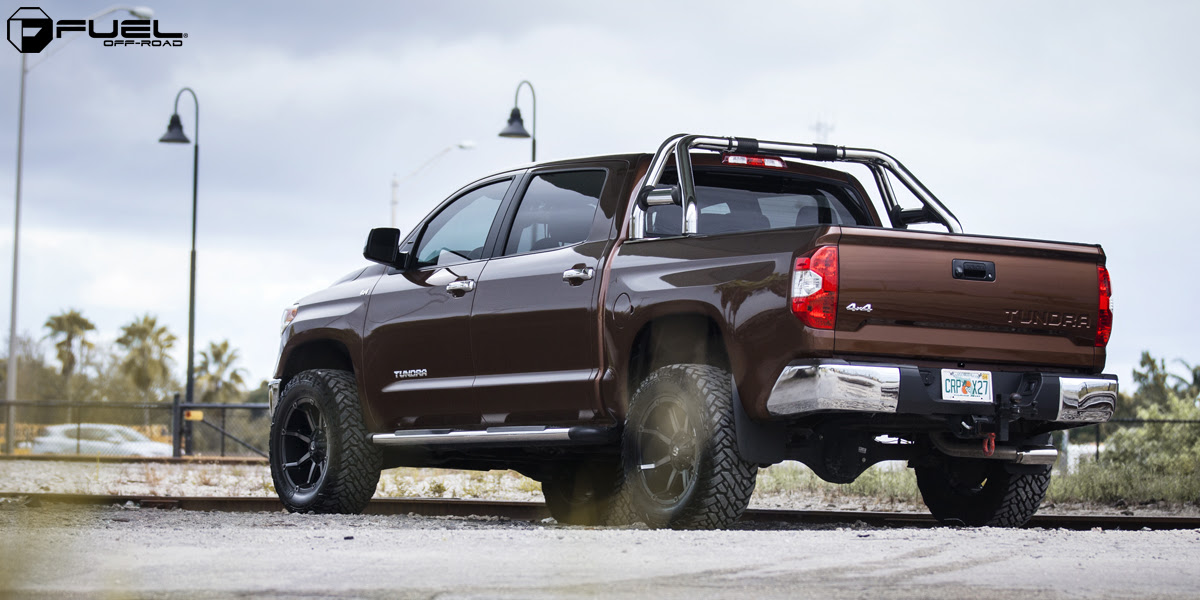toyota tundra coupler  d556 gallery  fuel offroad wheels