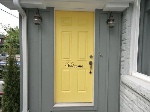 Painted Door - July 2011