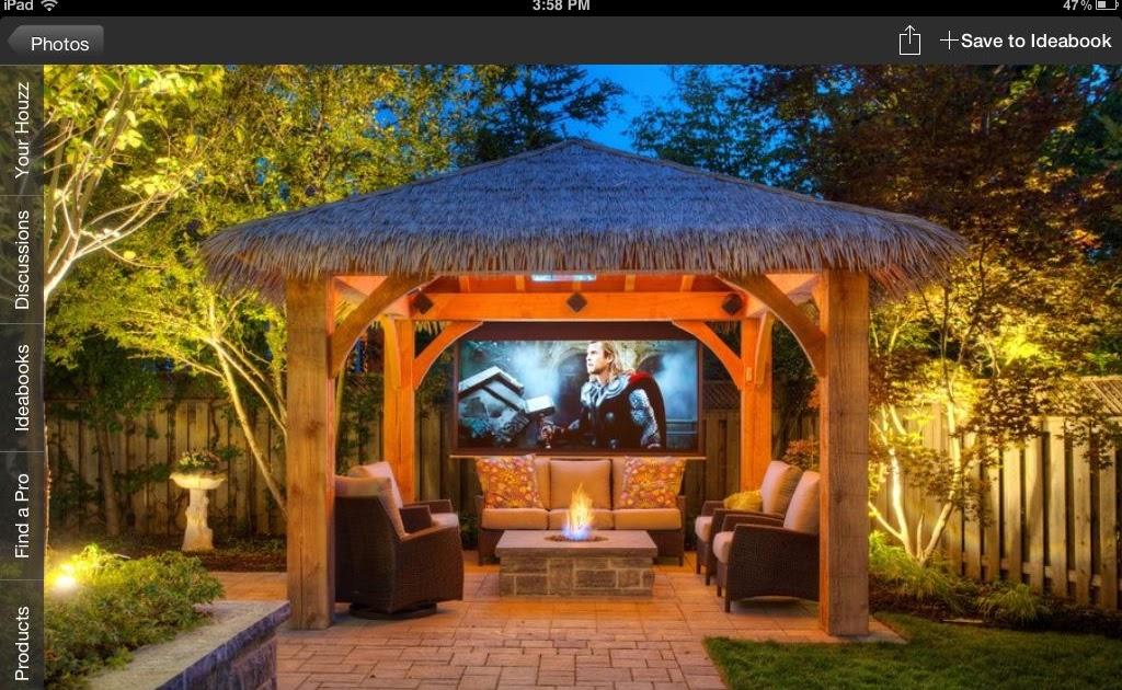 Backyard Tiki Hut Ideas Homideal, Tiki Patio Decor