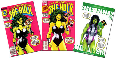 Sensational She-Hulk #1/Sensational She-Hulk #1/She-Hulk v.3 #8