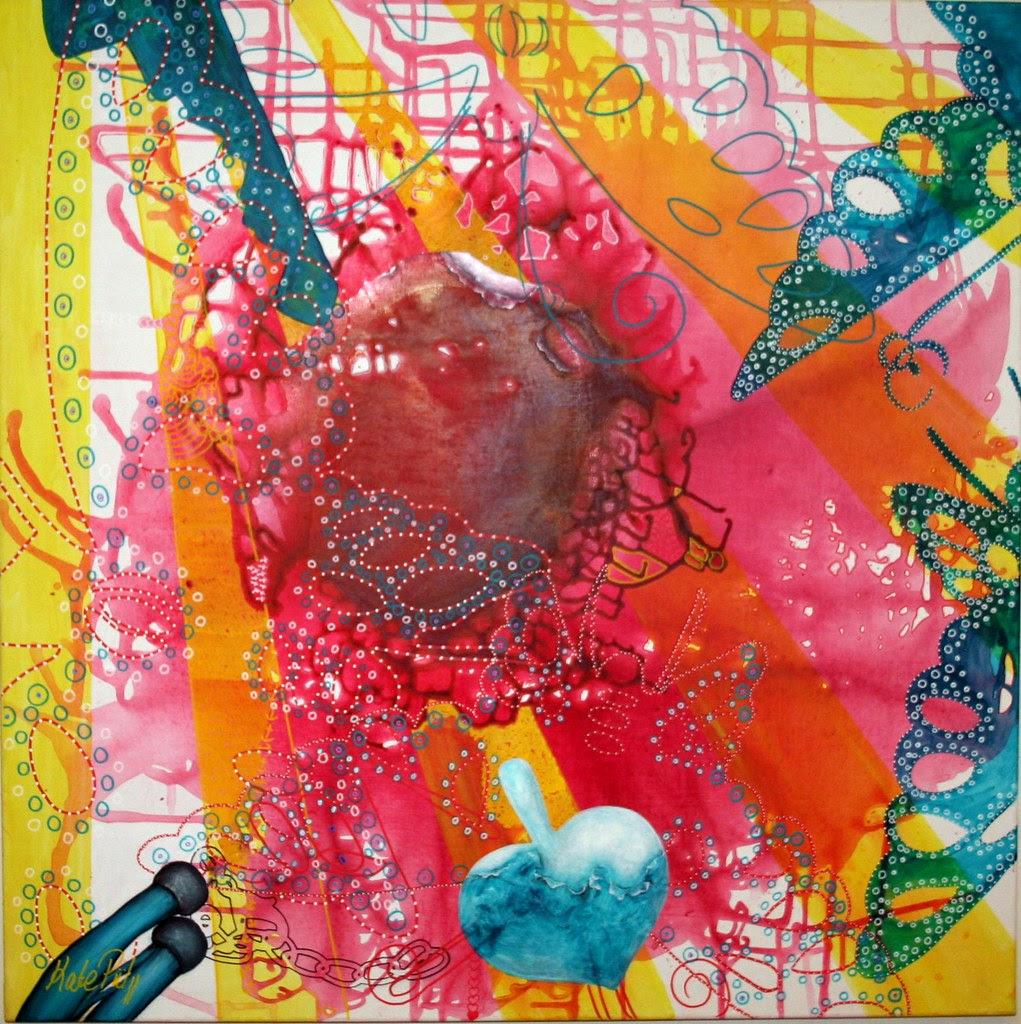 Kate Piil painting