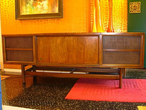Mr Modtomic This Killer Ge Granville Console Stereo Was
