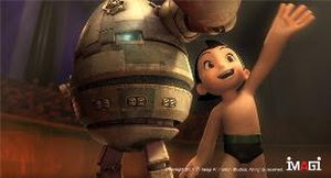 Astro Boy in the upcoming CG film