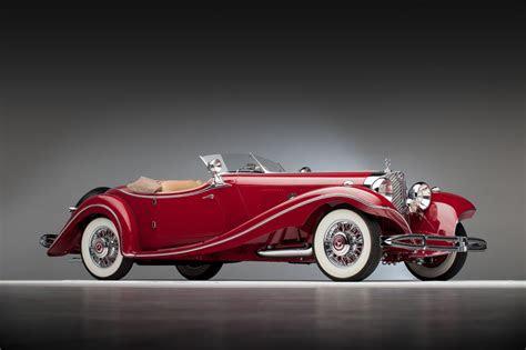 german police seize vintage mercedes  classic car show