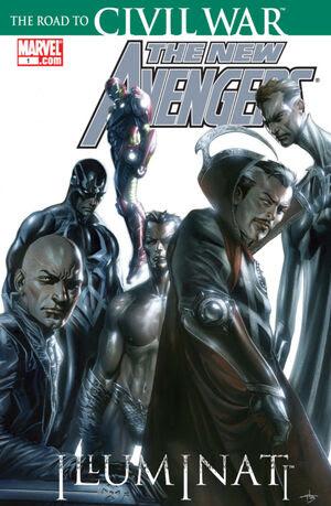 New Avengers Illuminati Vol 1 1