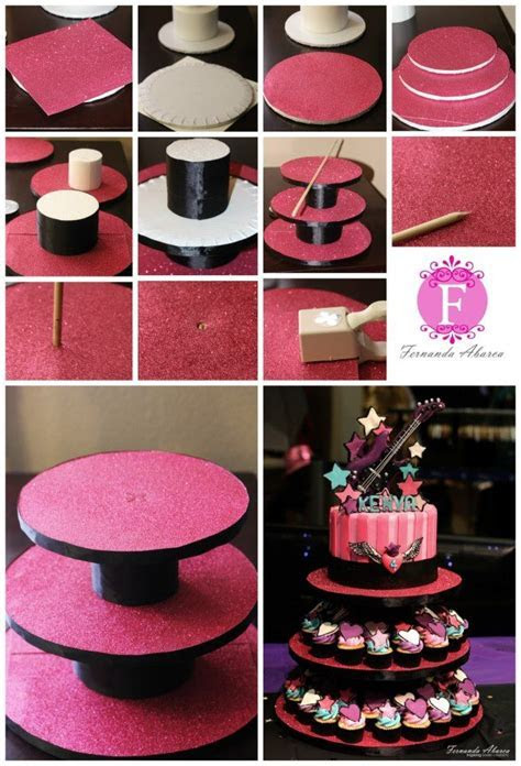 Best 25  Diy cupcake stand ideas on Pinterest   Cupcake