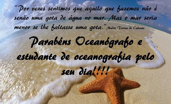 Dia do Oceanógrafo Imagem 1