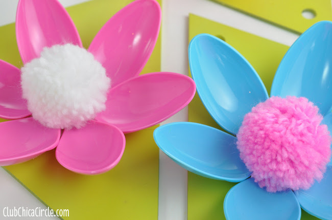 Easy Spring Flower Garland @clubchicacircle