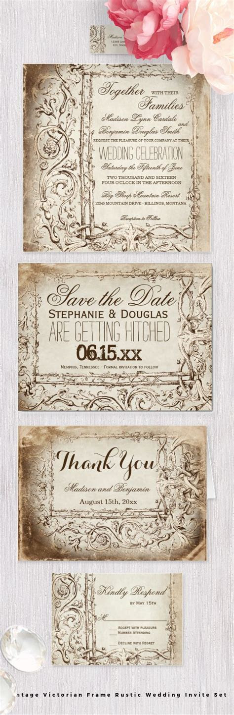 25  best ideas about Framed wedding invitations on