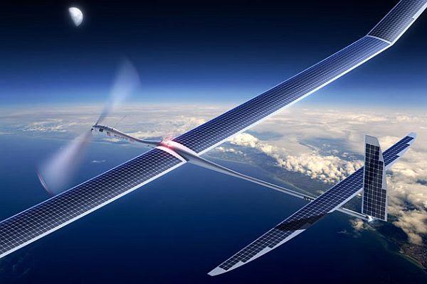 Facebook solar drones