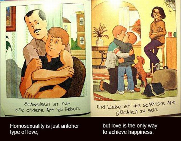 German Children's Book About Homosexuality (14 pics)