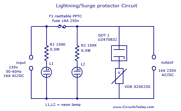 Lightning Protector Circuit