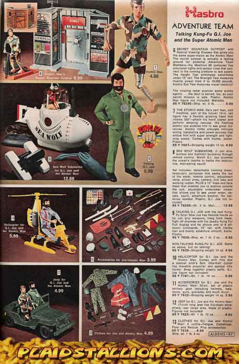 GI Joe and Mike Power Atomic Man