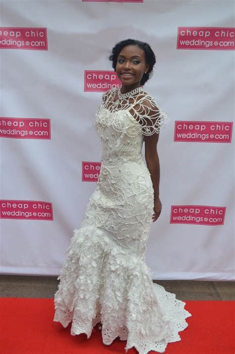 The 2016 Toilet Paper Wedding Dress Contest