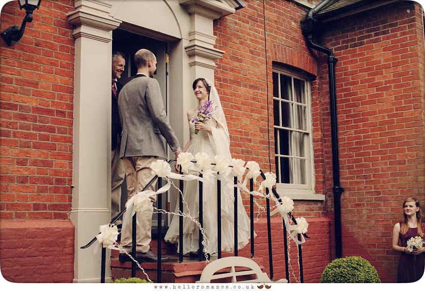 Wedding Ceremony Outdoors Halesworth Suffolk - Hello Romance