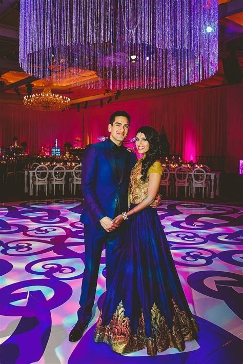 Avni & Abhishek   Indian Wedding Reception Outfit   Think