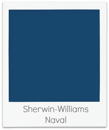 Creategirl Color Time Sherwin Williams Naval The