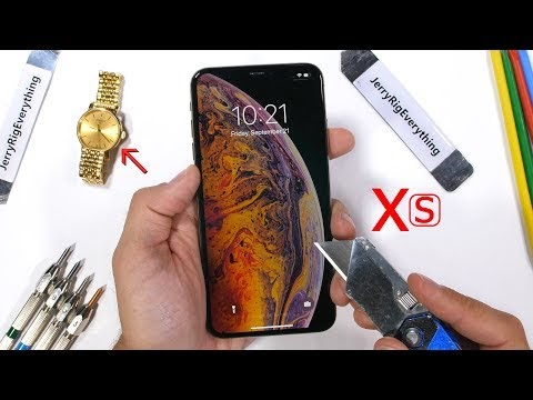 Video: iPhone XS Max undergoes the toughest tests and this result