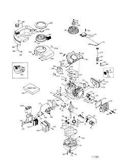 Free Service Repair Manual: Tecumseh engine parts diagram