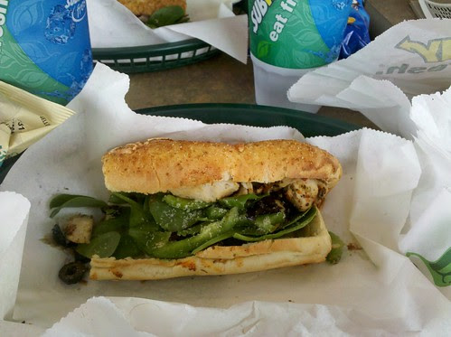 Tuscan Chicken at Subway