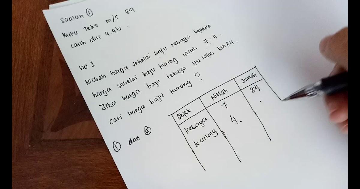 Soalan Buku Teks Matematik Tingkatan 1 Tersoal M