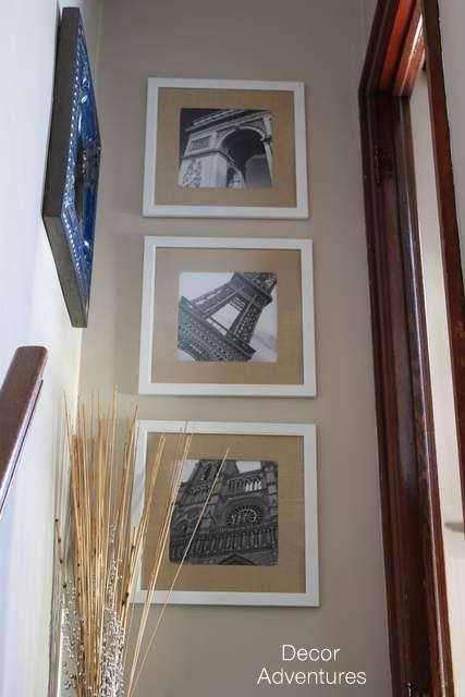 Photos in Hallway