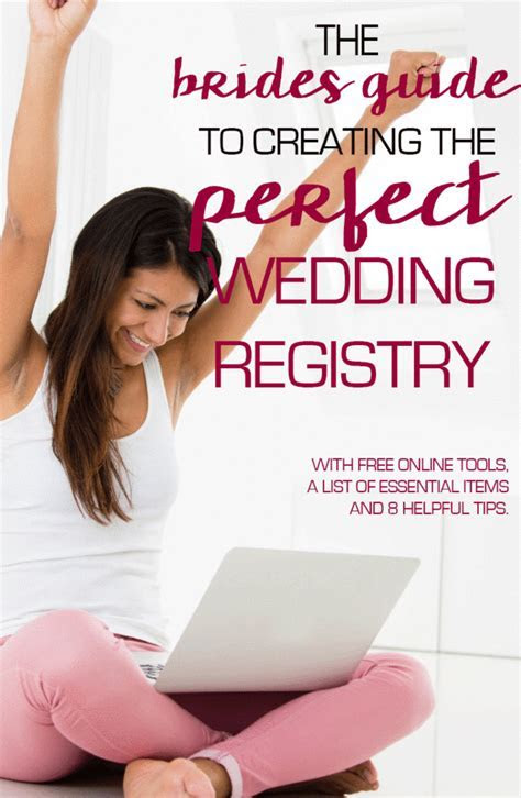 A Brides Guide to Creating the Perfect Wedding Registry