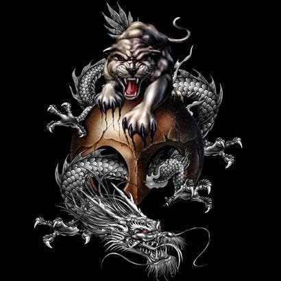 Top Chinese Tiger And Dragon Tattoo Tattoomagz