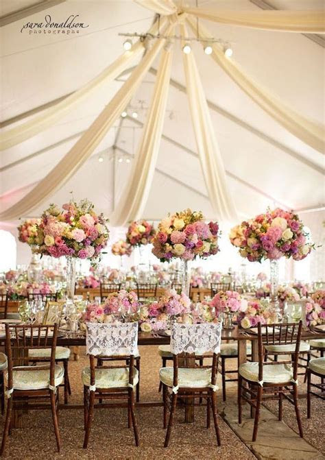 Tent Weddings and Drapes with Luxe Style   Gardens