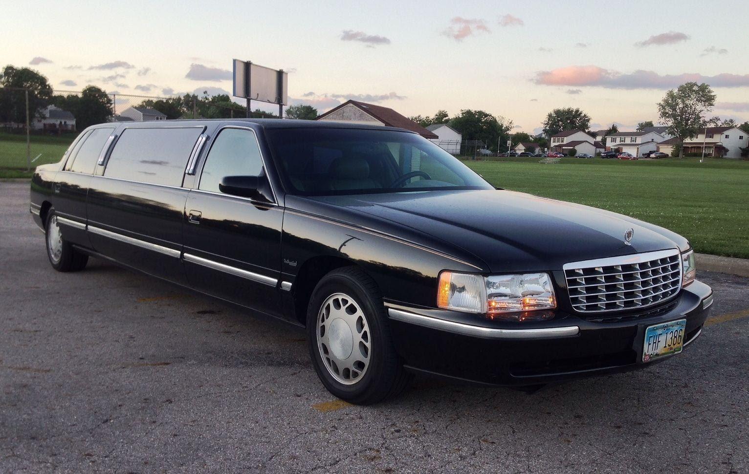 needs transmission 1998 Cadillac DeVille limousine for sale