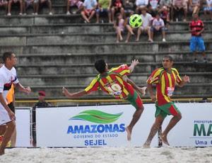 Sampaio Correia x Flamengo Copa Brasil de futebol de areia (Foto: Antônio Lima/Divulgação)