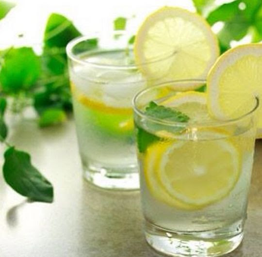 Ditch the coffee first thing in the morning and start your day with some warm lemon water!