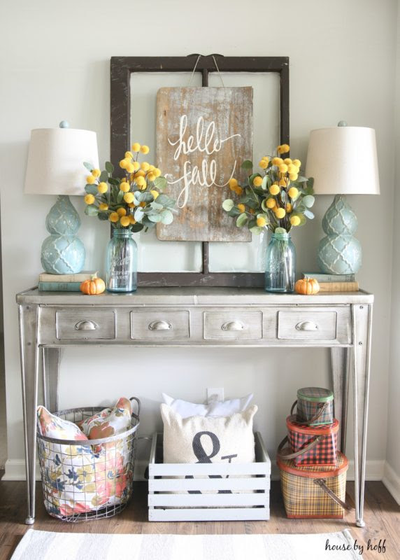 DIY Sign for Fall via House by Hoff