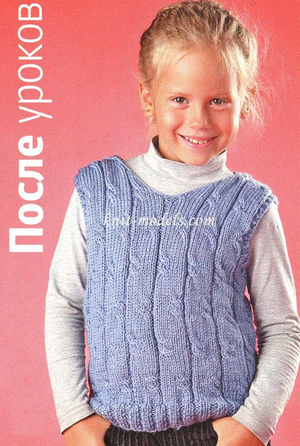 вязание свитшота на мальчика 5 лет