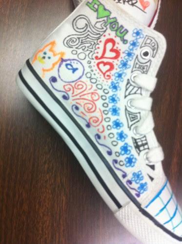 Doodle shoe