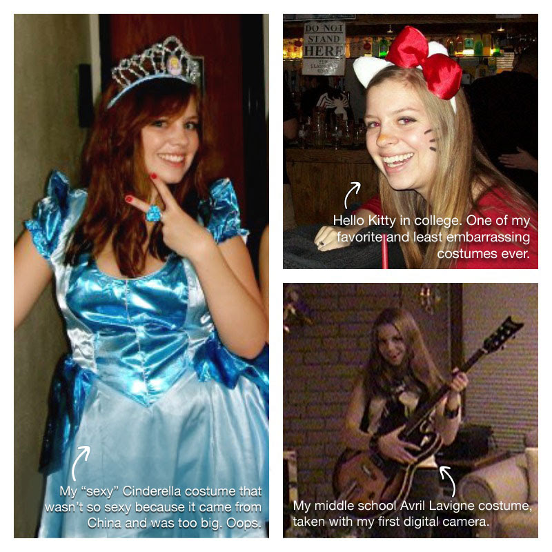 Halloween Costumes Through the Years - Jenn at hellorigby!