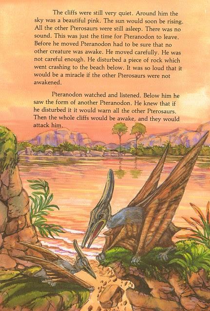 Sneaky Pteranodon