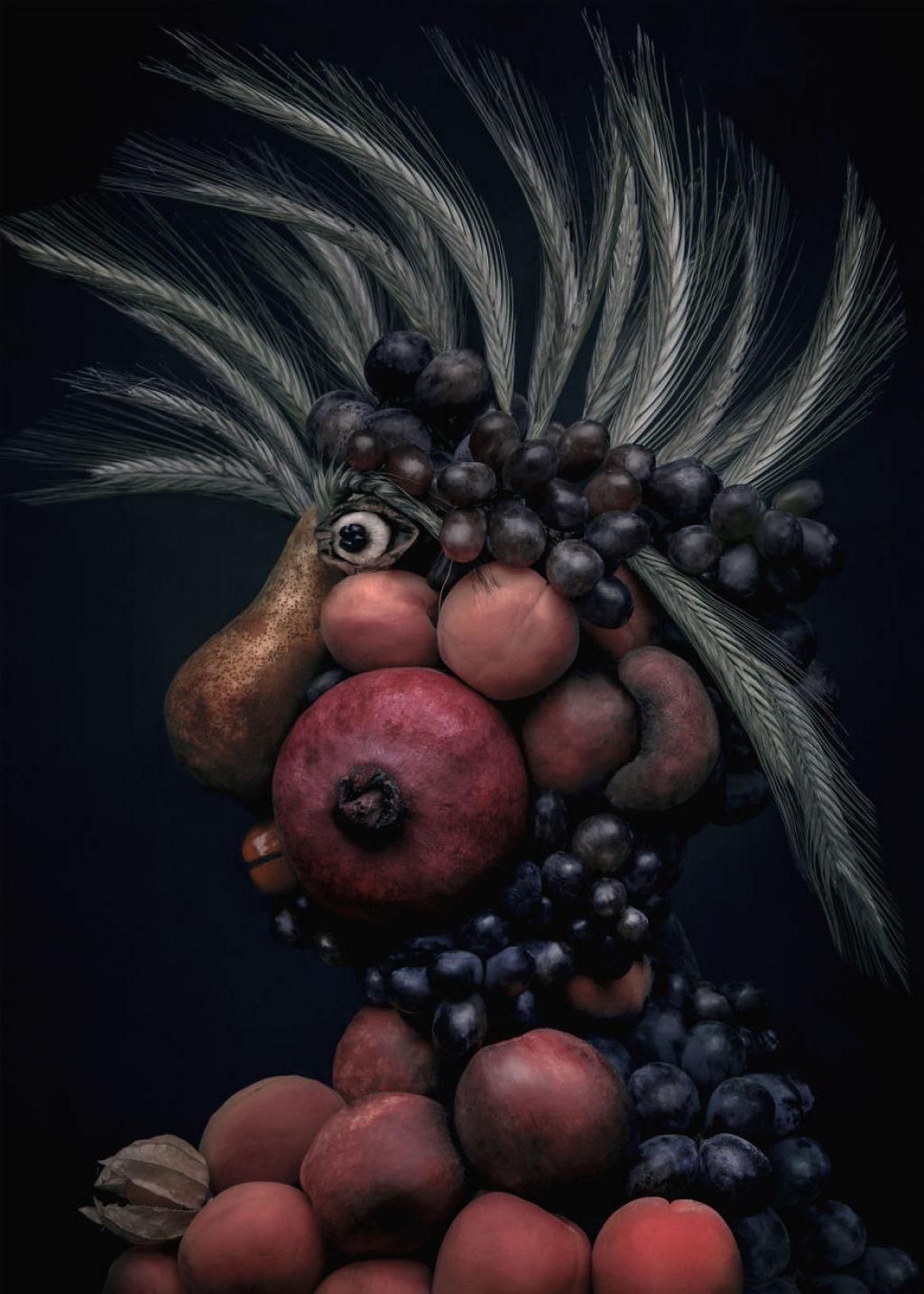 Artista polonesa cria uma incrível coleção inspirada na arte de Giuseppe Arcimboldo 06