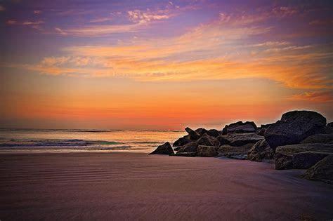 Beach At St Augustine Fl.St Augustine Sun Sea Beach