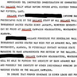 Intelligence Investigation Documents