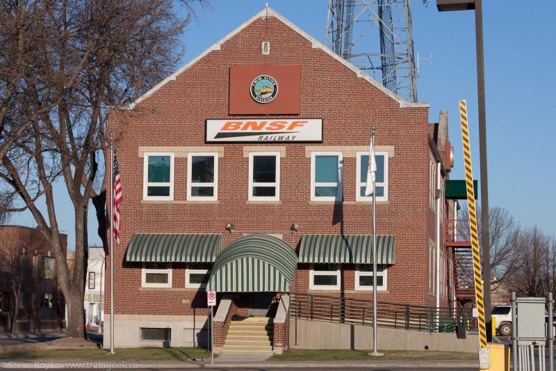 BNSF in Fargo