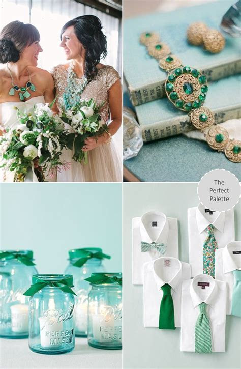 335 best images about Emerald Weddings on Pinterest