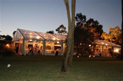 Clear roof Marquee, party hire, Marquee hire, Central
