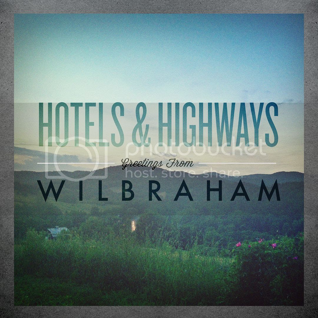 Hotels & Highways album Cover, Greetings From Wilbraham