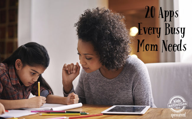apps for busy moms