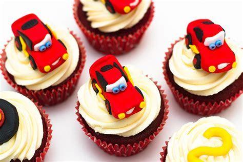 Disney Pixar Cars   Lightning McQueen Cupcakes   Sunday Baking