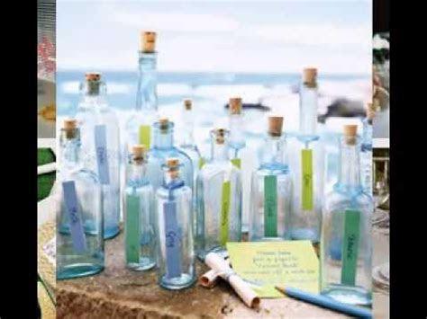 DIY Beach wedding table decorating ideas   YouTube