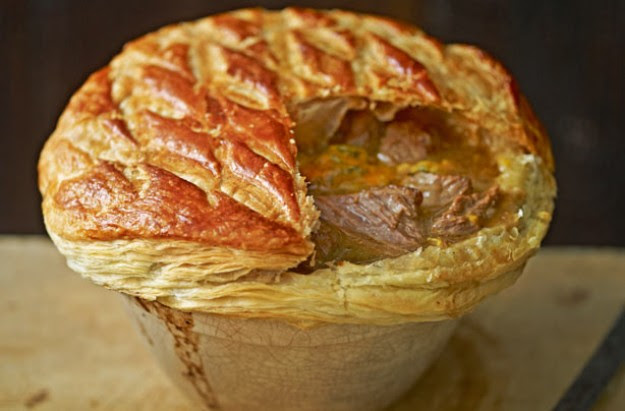 Beef, Stilton and ale pie recipe - goodtoknow