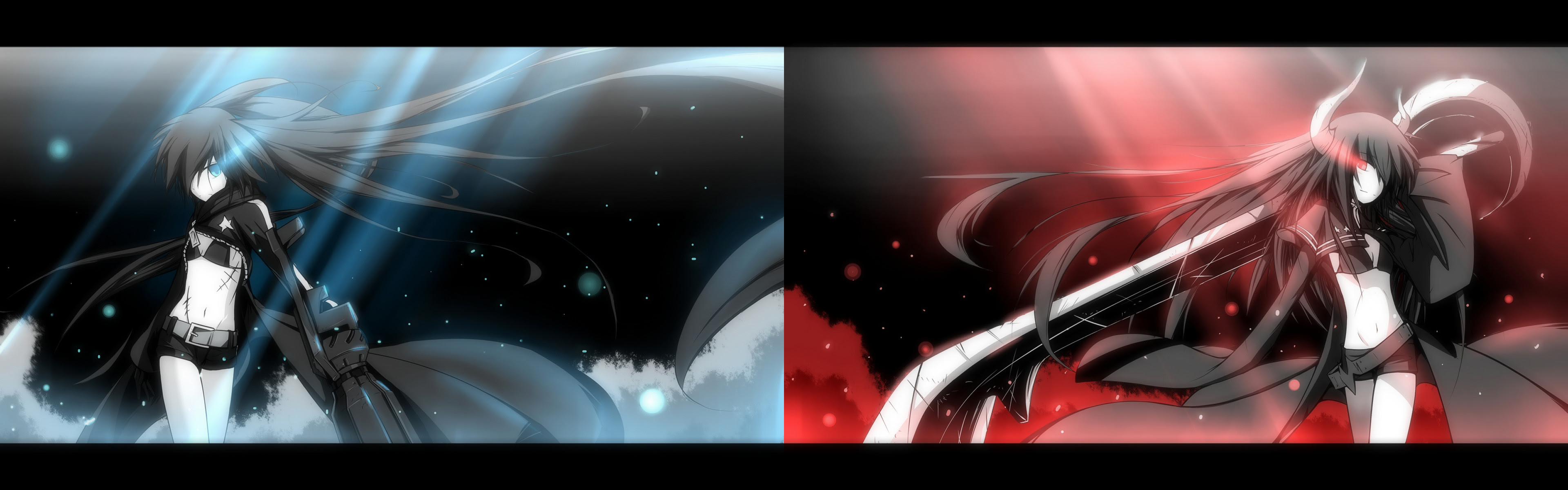 27 Dark Anime Dual Screen Wallpaper Sachi Wallpaper